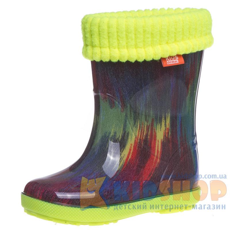 Дитячі гумові чоботи Demar Hawai Lux Print 0049 AF купити в інтернет ... c22e2c073b58c