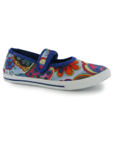 Текстильна взуття Miss Fiori Paisley Mary Jane Childrens Pumps