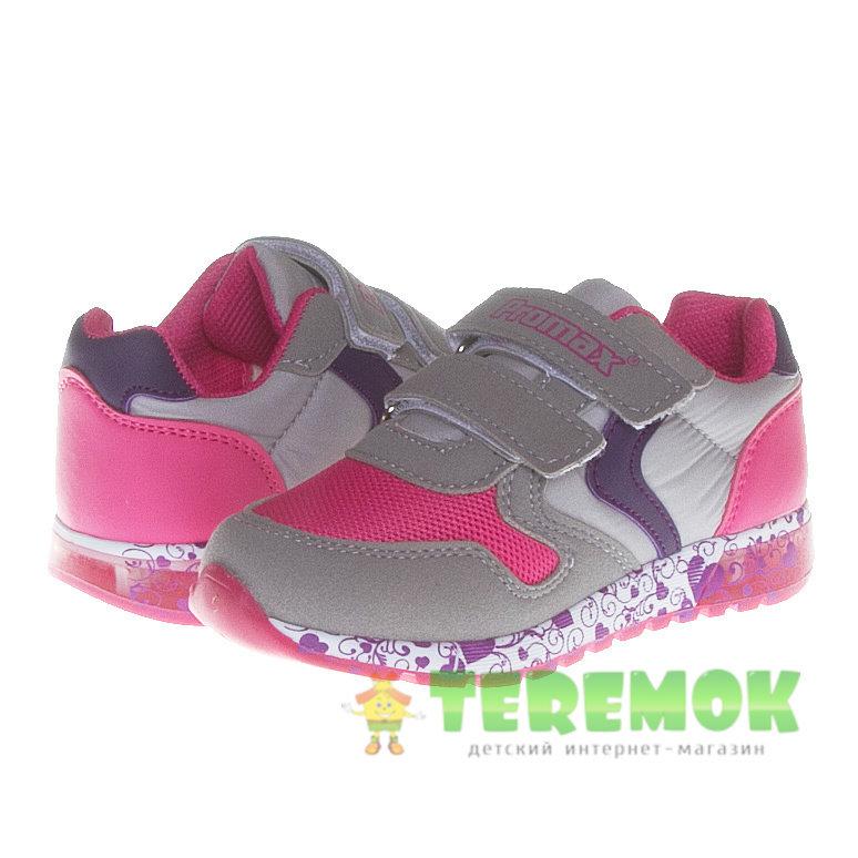 cb431c36bd81 Светящиеся детские кроссовки Promax 1444 1 для девочек купить в ...
