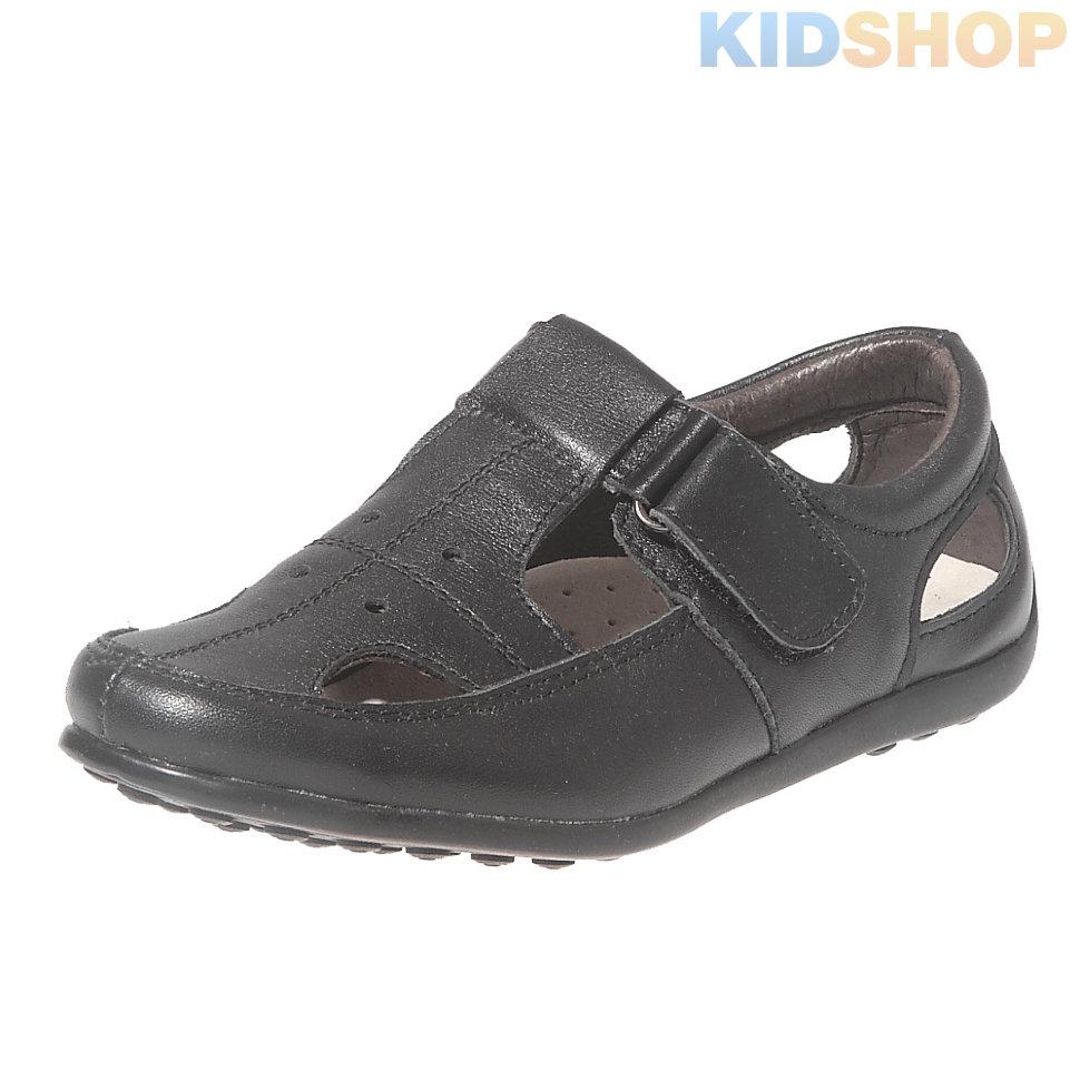 8b38d891662162 Открытые кожаные туфли для мальчиков-подростков B&G M-92 купить в ...