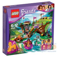 Конструктор Lego Friends Спортивный лагерь: сплав по реке 41121