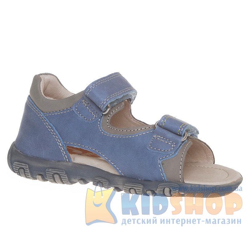 3712141f8 Босоножки для мальчика Ponte 20 кожаные светло-синего цвета купить в ...