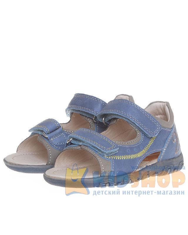 1afd1e8ed4a452 Босоніжки для хлопчика Ponte 20 шкіряні світло-синього кольору ...