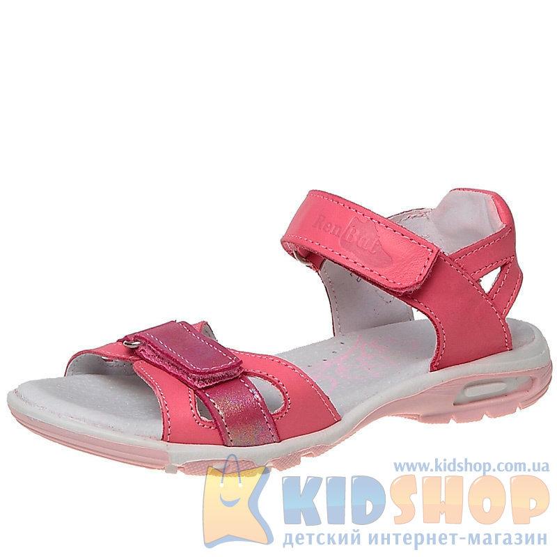 bbcf4ffaa Детские босоножки Renbut 21-3164 для девочки розового цвета купить в ...