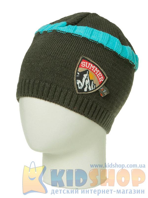 вязанная детская шапка Olta украина 292014 для мальчиков купить в