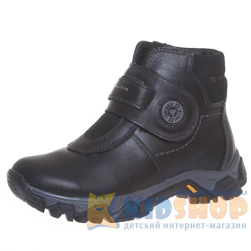 4439b5ce0 Зимние кожаные ботинки Constanta 1030 на липучках для мальчиков ...