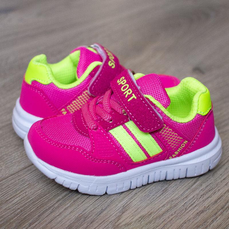 240e522a4 Детские кроссовки для девочки Том.м 5624 H цвет розовый и салатовый ...