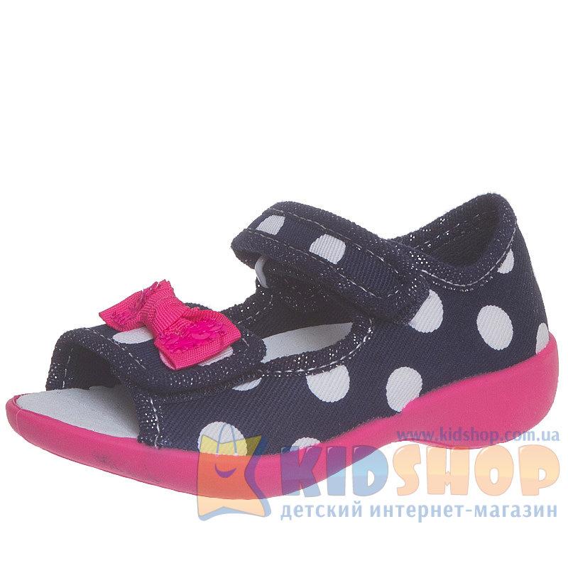 Текстильные летние туфли для девочек 3F Syrenka 3SA22 5 фиолетового ... aa4b5fa12512f