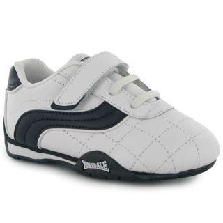 7d692951 Кроссовки для малышей Lonsdale Camden Infants Trainers белые купить ...