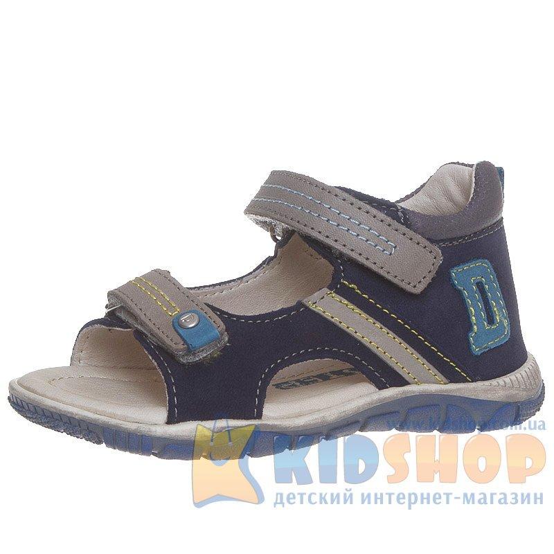144d1cacf Босоножки на мальчика D.D.Step K330-13A темно-синего цвета купить в ...