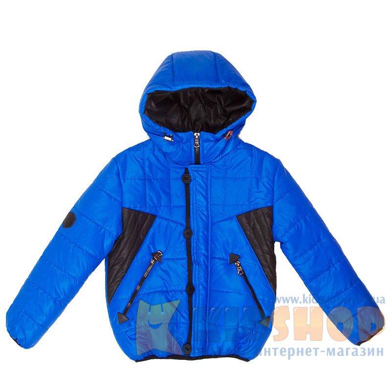 5fa0f02c067509 Демісезонна куртка для хлопчика Angeli Iton синього кольору купити в ...