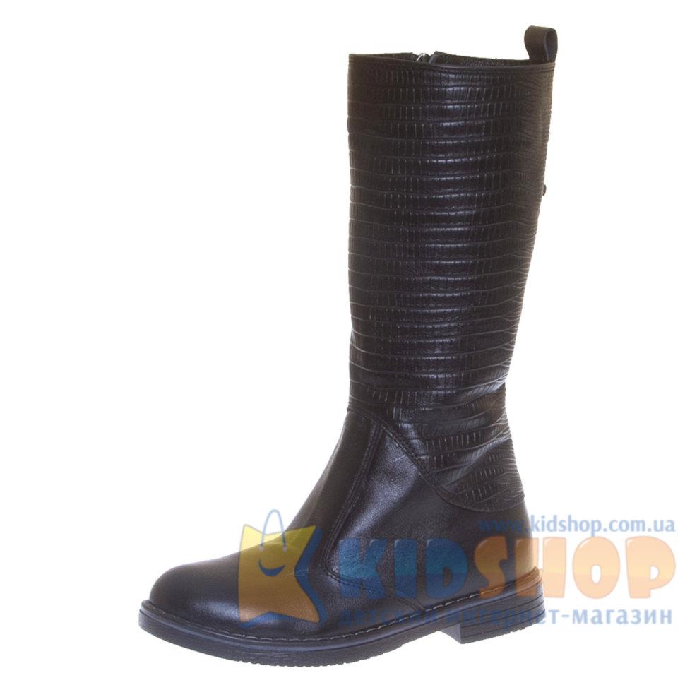 Шкіряні чоботи для дівчинки Constanta 1248 модель рептилія купити в ... 8d6290a62ac33
