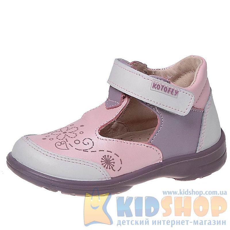 0446f1b1f Детские кожаные туфли для девочек Котофей 132060-21 купить в ...