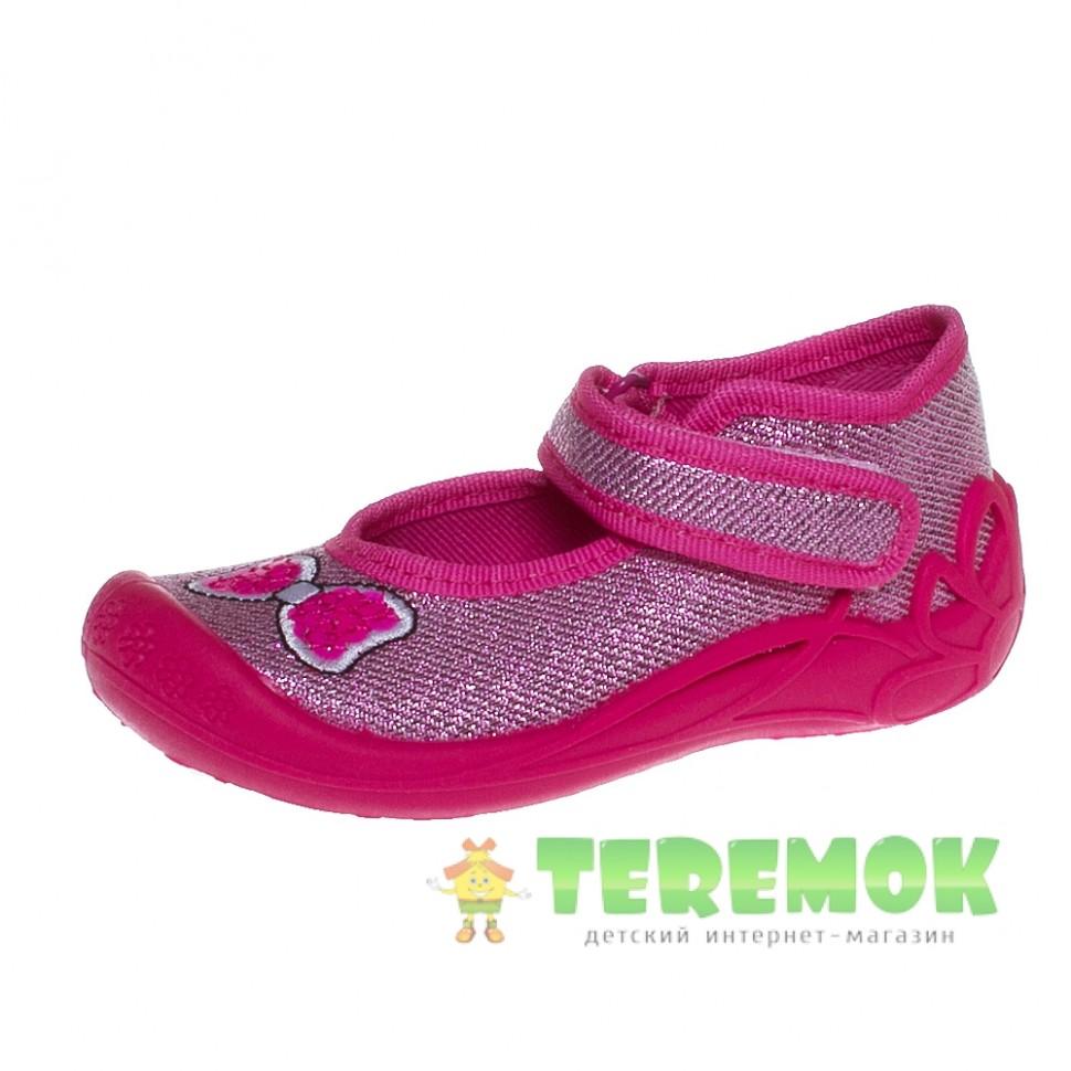 Текстильная обувь 3F Pszczolka 1F2 5 розовый e53427943bca1