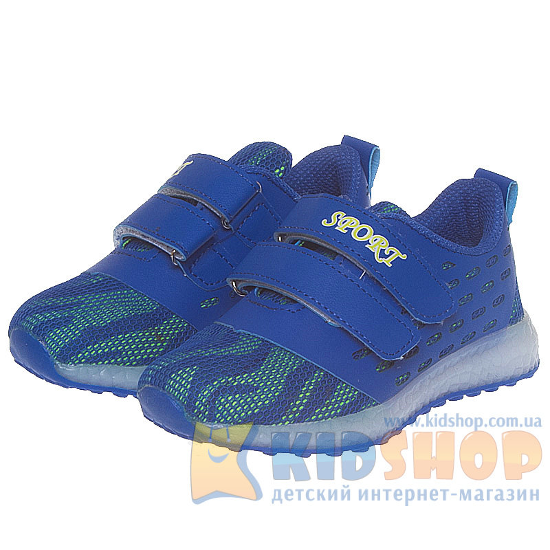 1108b641 Кроссовки Tom.m X-3055B Blue с мигалками купить Киев и Украина