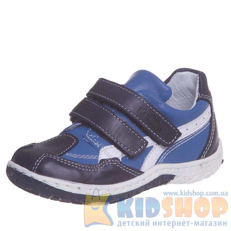 0fe3055f99bc99 Кожаные детские туфли Renbut 13-268-0293 для мальчиков синего цвета ...