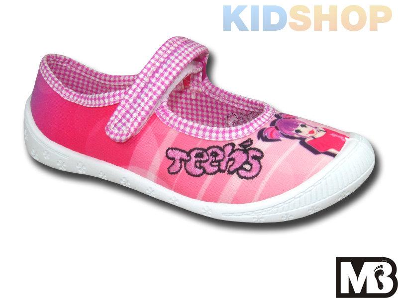 2bd33ea97fa5c2 Текстильные туфли дошкольно-школьные МВ (Польша) 313-А купить в ...