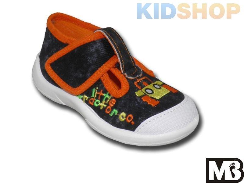 14c4dc1bce3440 Дитяча текстильна взуття для хлопчиків польського виробника МВ 644 ...