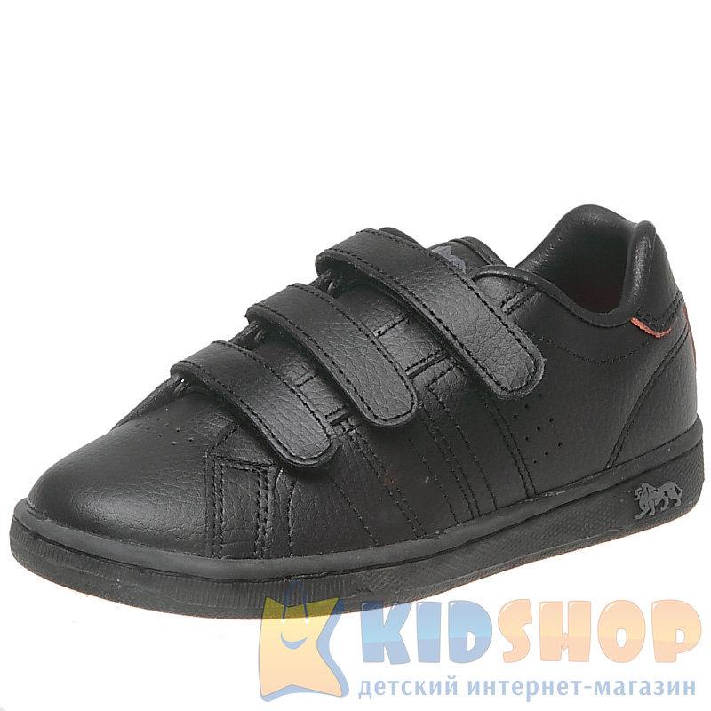 b878a43c48e9 Детские кроссовки для мальчиков черного цвета Lonsdale модель Leyton ...