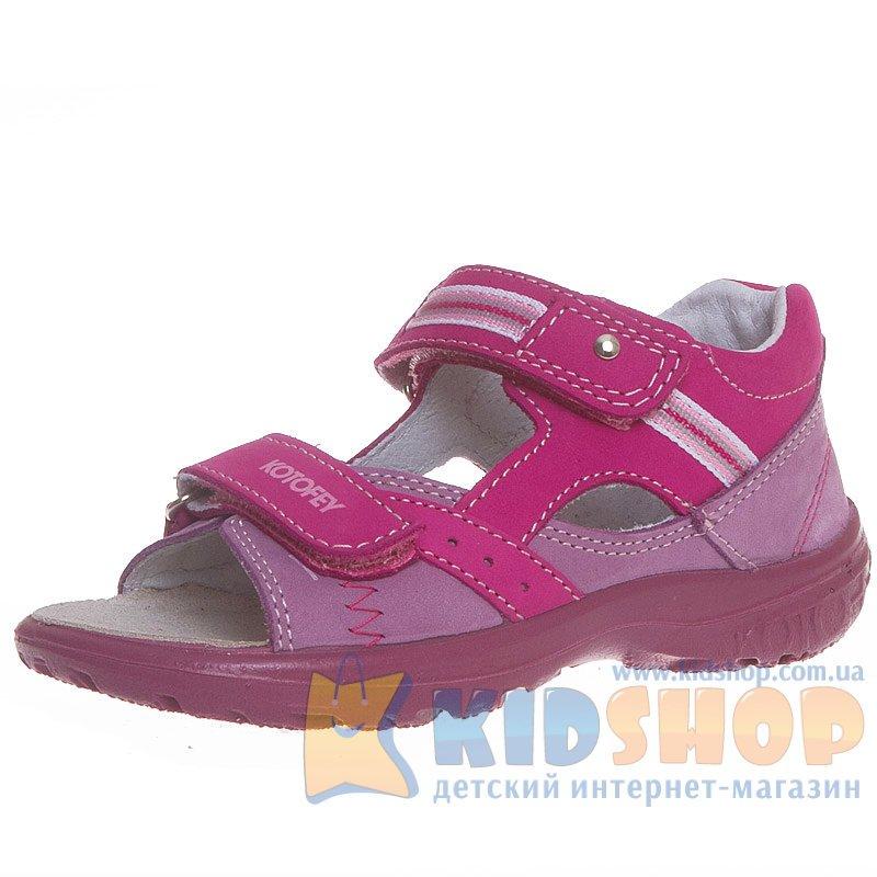 a1fca61b1ecc28 Босоніжки для дівчинки Котофей 122059-28 купити в інтернет магазині ...